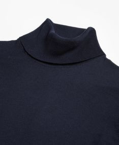 SVETR BROOKS BROTHERS SWT WL EASY CARE TNK NEW NAVY