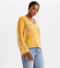 SVETR ODD MOLLY ENTANGLEMENT SWEATER