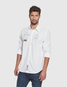 KOŠILE LA MARTINA MAN SHIRT L/S OXFORD