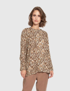HALENKA LA MARTINA WOMAN SHIRT L/S TWILL
