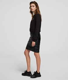 SUKNĚ KARL LAGERFELD QUILTED SKIRT